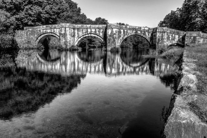 Ponte sobre o Rio Xallas