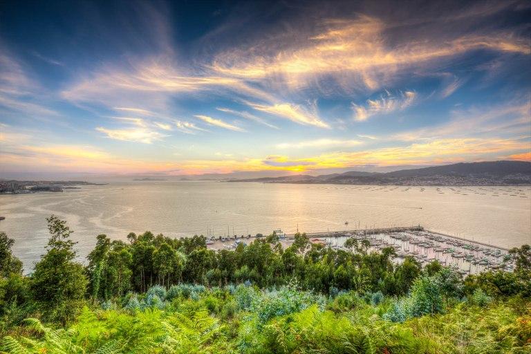 Ocaso en la Ria de Vigo...